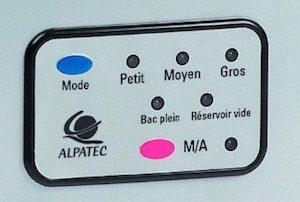 Tableau de contrôle Alpatec MG9