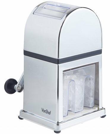VonShef Machine à glace pilée