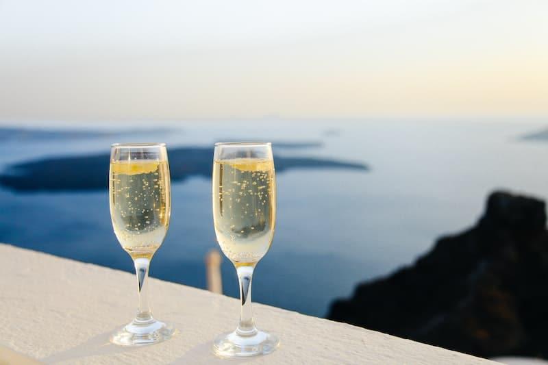 Champagne avec ou sans glaçons